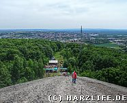 Aussicht auf Sangerhausen