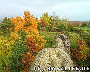 Kuxburg an einem Herbsttag