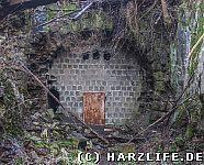 Das Nordportal des Bismarcktunnels im Jahre 2015