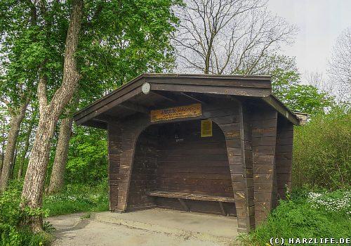Die Schutzhütte Schöneburg bei Altenbrak
