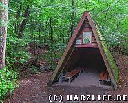 Schutzhütte am Dammbach