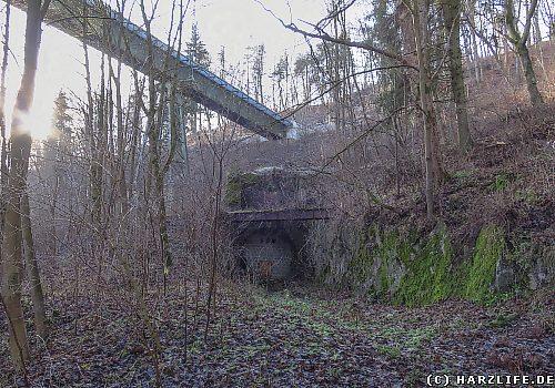 Der Bismarcktunnel bei Kreuztal