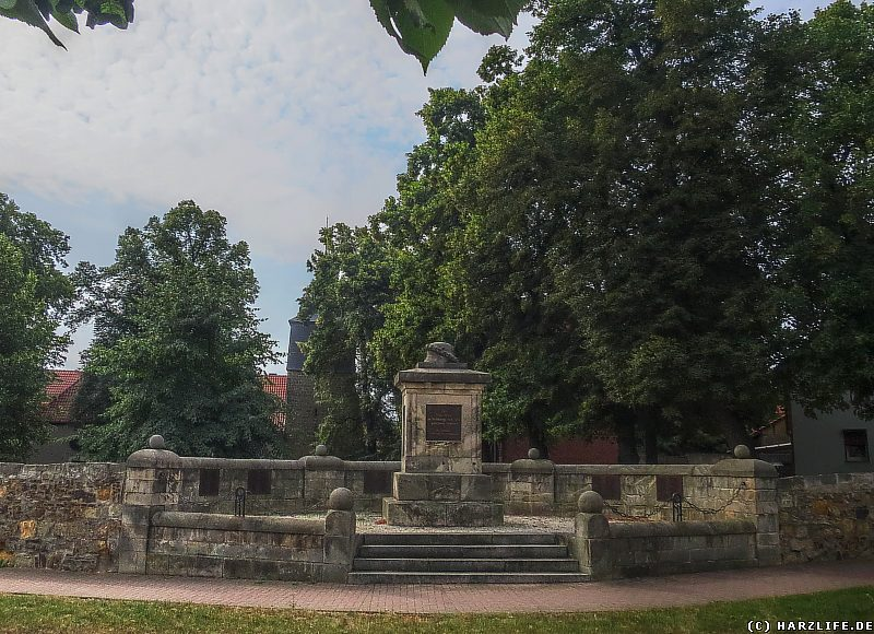 Das Kriegerdenkmal in Westerhausen