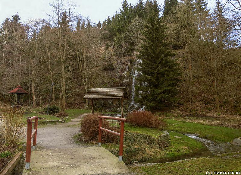 Am Königshütter Wasserfall