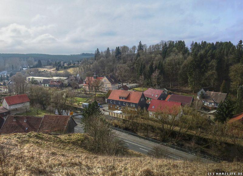 Aussicht vom Bockberg auf Rothehütte