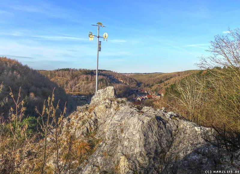 Burgruine Birkenfeld - Aussicht auf das Mühlental
