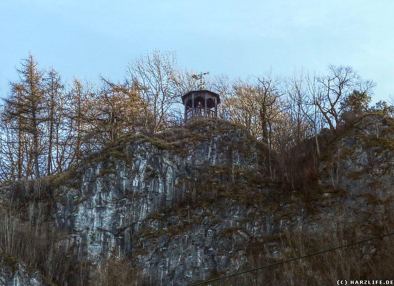Der Aussichtspavillon auf dem Hohen Kleef