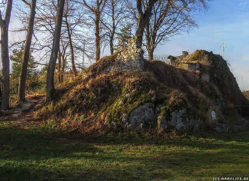 Burgruine Birkenfeld - Oberburg