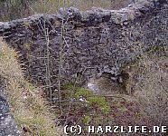 Bergfried vor der Restaurierung