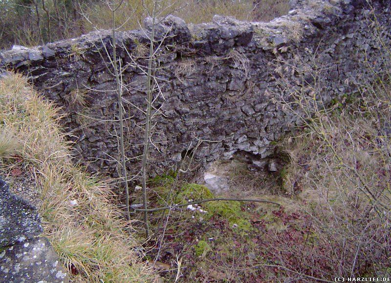 Burgruine Birkenfeld - Turmstumpf vor der Restaurierung