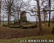 Gesamtansicht der Burganlage