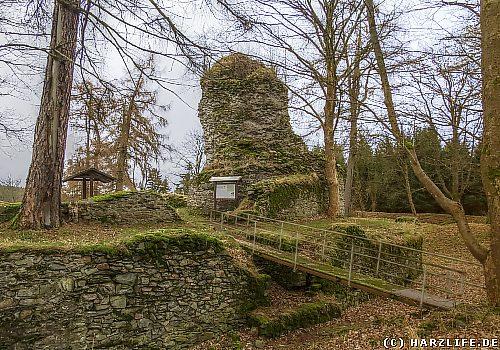 Die Burgruine Königsburg