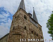 Westwerk der St.-Trinitatis-Kirche