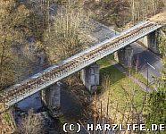 Eisenbahnbrücke der Rübelandbahn