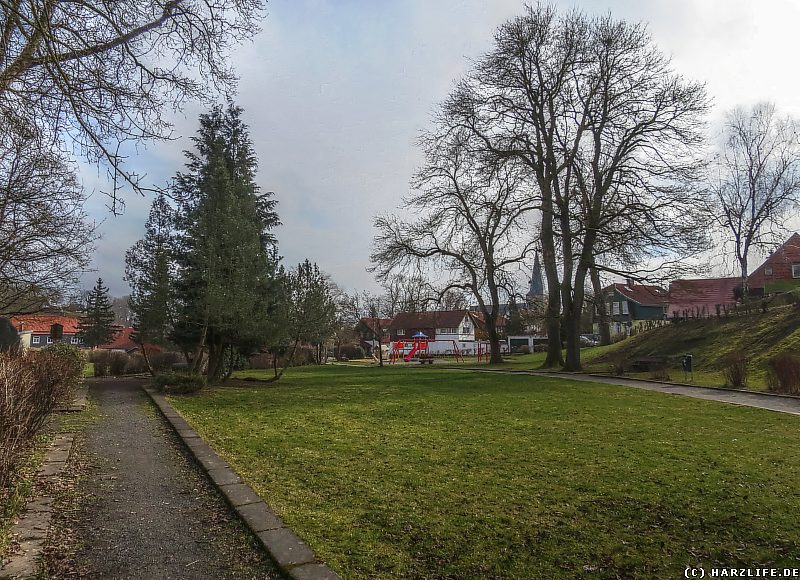 Der Goethepark in Elbingerode