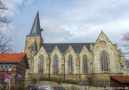 Die Stadtkirche St. Jakobi in Elbingerode
