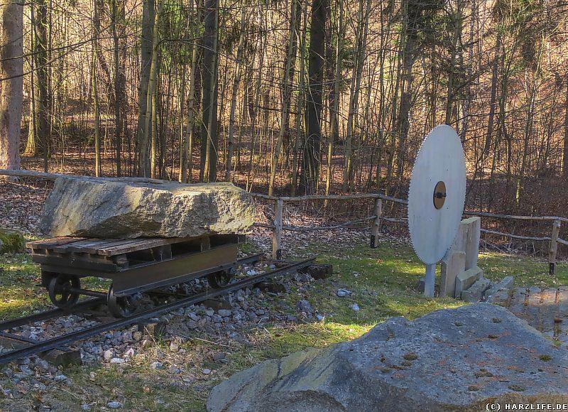 Die Granitpräsentationsstätte Steinerne Renne