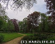 Ein Landschaftspark im englischen Stil