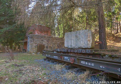 Die ehemalige Verladestelle Thumkuhlental