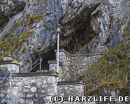 Ausgang der Hermannshöhle