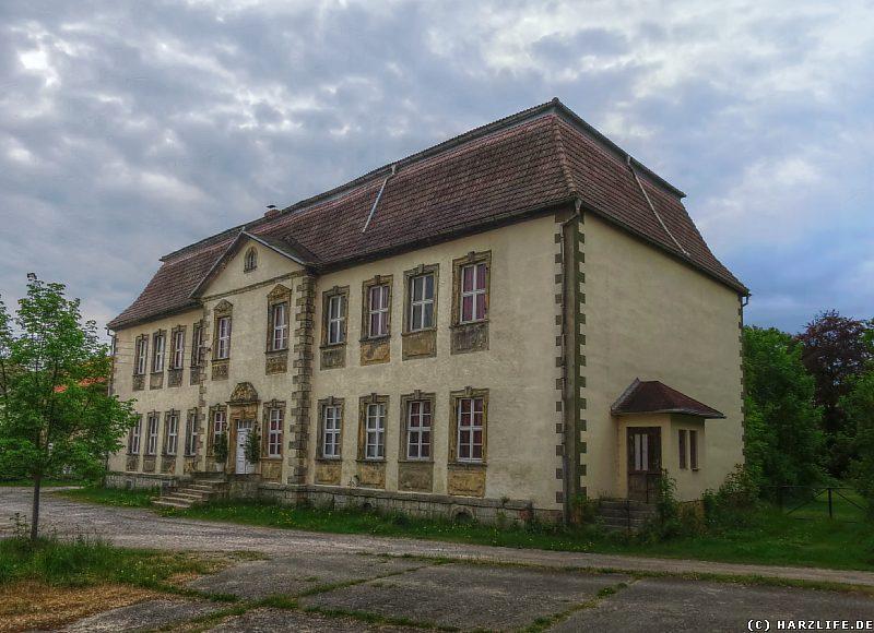 Das Gutshaus des einstigen Rittergutes in Minsleben