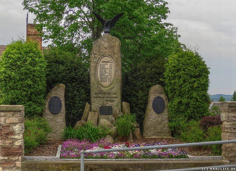 Kriegerdenkmal in Minsleben