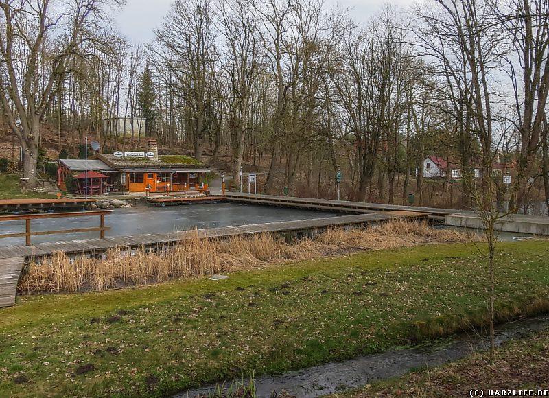 Naturbad Elbingerode mit Christinenteichbaude