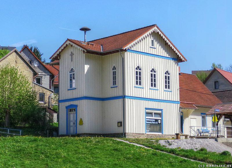 Die Alte Schule und einstige Kirche von Neuwerk