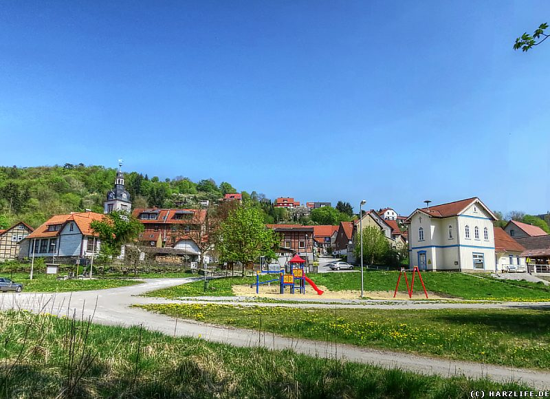 Der Hütteplatz in Neuwerk