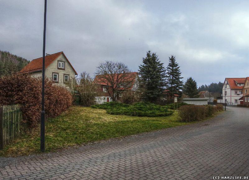 Parkanlage am Standort der einstigen Kirche von Königshof