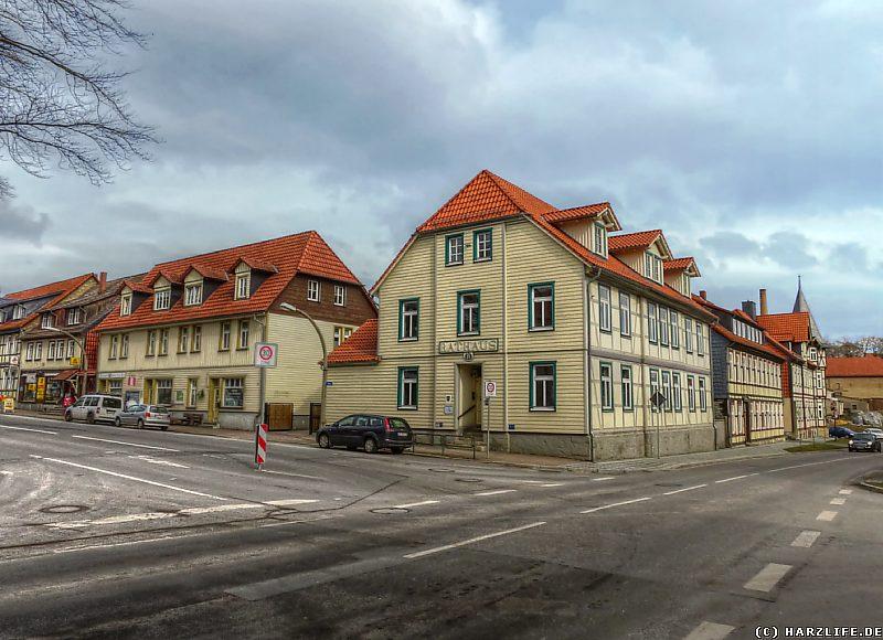 Das alte Rathaus von Elbingerode