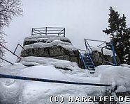 Die Schnarcherklippen im Winter