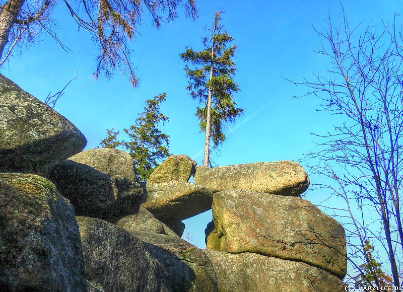 Ein außergewöhnlicher Standort auf einer Granitklippe