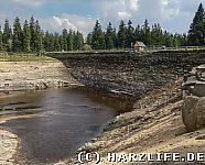 Staudammsanierung am Oderteich