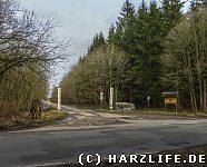 Zufahrtsstraße zum Schaubergwerk