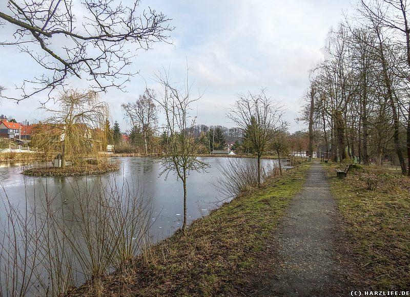 Parkanlage mit Teichen in Elbingerode
