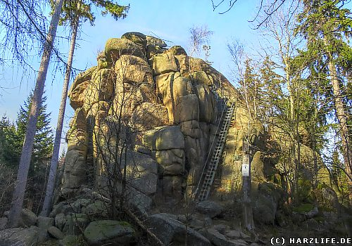 Wanderung zum Ottofelsen