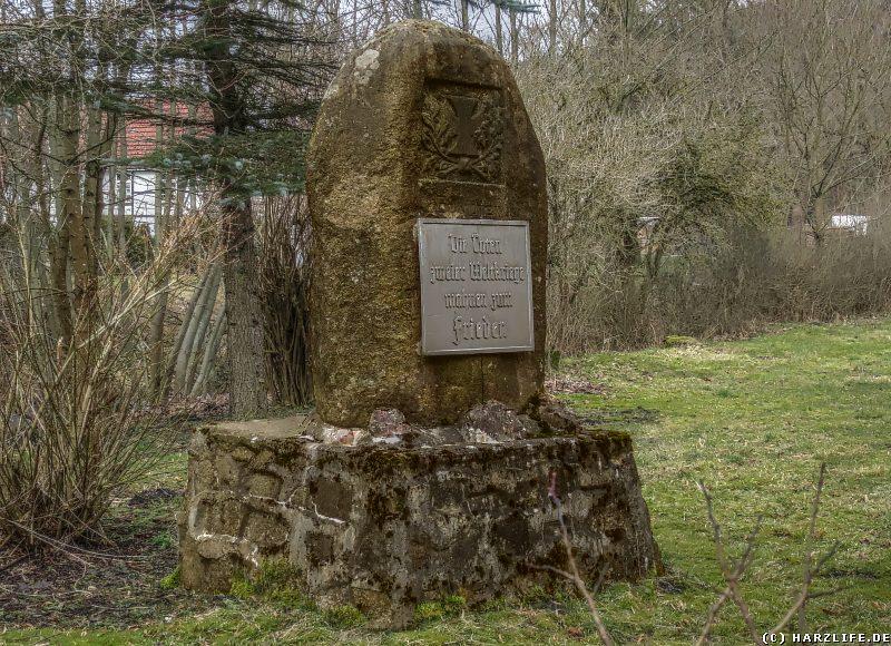 Mahn- und Gedenkstätte für die Toten der beiden Weltkriege