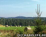 Aussicht vom Bergwiesenlehrpfad