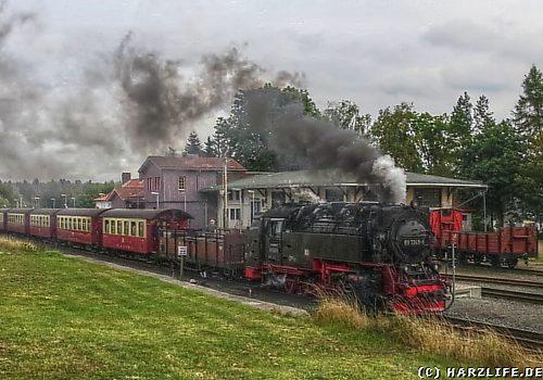 Der Bahnhof Benneckenstein