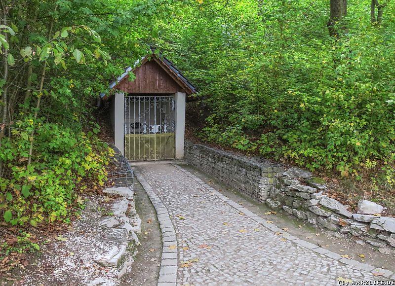 Barbarossahöhle - Der Höhlenausgang
