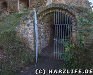 Eingang zum Burgkeller