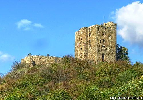 Burgruine Arnstein - Bergfried und Palas