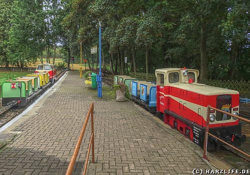 Fahrzeuge der Parkeisenbahn Vatterode