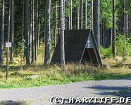 Die Schutzhütte am Grauberg