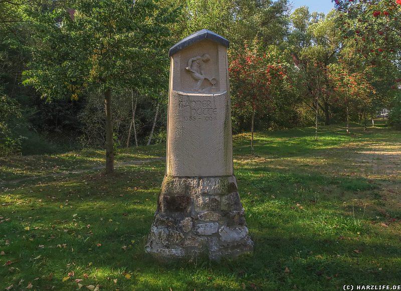 Das Hüttedenkmal in Tanne