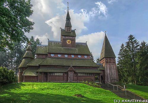 Blick zur Kirche von Hahnenklee