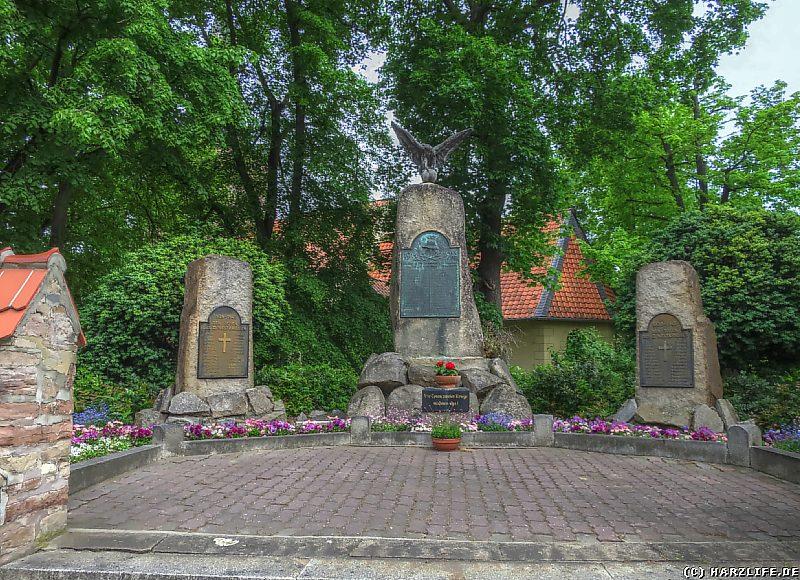 Das Kriegerdenkmal in Silstedt