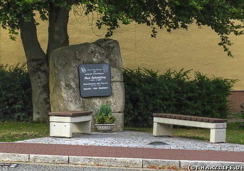 Das Max-Schmeling-Denkmal