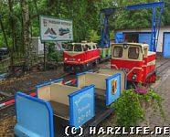 Lokomotiven und Personenwagen